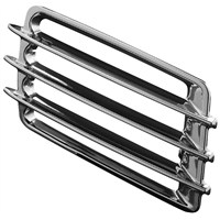 Chrome Fairing Exit Grill Covers for GL1500