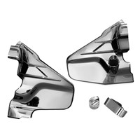 Louvered Chrome Transmission Cover