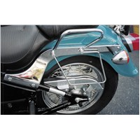 Chrome Saddlebag Guards for Kawasaki