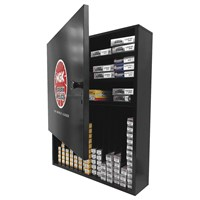 NGK® Metal Cabinet Display