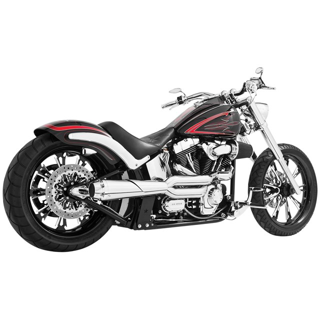 American Outlaw High 2-Into-1 for Softail Models