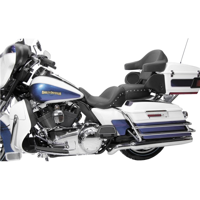 1-Piece Lowdown Touring Seat - Chrome Studs