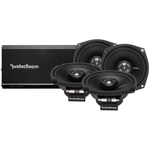 4 Channel Amp and Speaker Kit