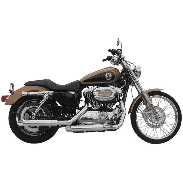 "3"" Slip-On Muffler for Sportster Models"