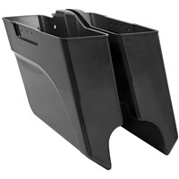 Angled Saddlebag