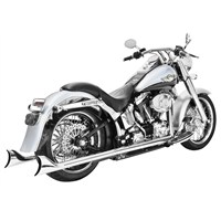 Sharktail Signature True Dual System for Softail Models