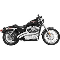 Sharp Curve Rad Radius Exhaust System for Sportster Models
