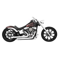 Staggered Duals Exhaust System for Softail Models