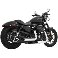 Staggered Duals Exhaust System for Sportster Models