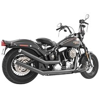 Upsweeps With End Cap for Softail Models