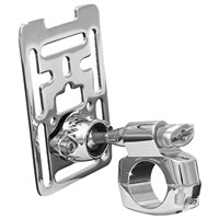 Premium Chrome Tech-Mount Accessory Mount