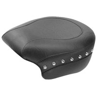 Wide Studded Rear Seat for Sportster Models