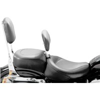Wide Vintage Recessed Rear Seat for Sportster Models