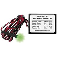 Heads Up Voltage Monitor