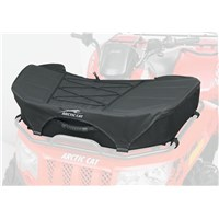Zipperless Black Front Rack Bag