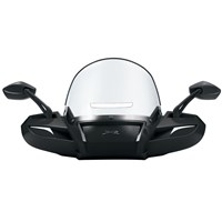 Windpro Windshield - Black