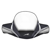 WindGuard Windshield - Black