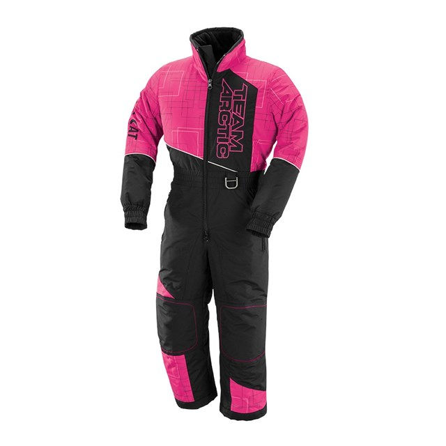 Team Arctic One-Piece Suit Pink