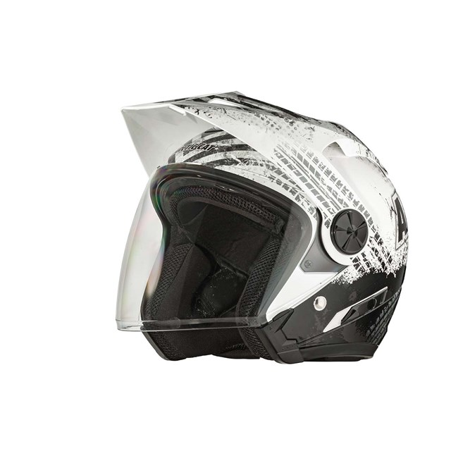 Arctic Cat Open Face Helmet Gloss Black - Small