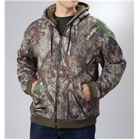 Arctic Cat HTC Camo High Pile Fleece Jacket - Small