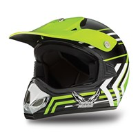 Youth MX Team Arctic Helmet Green