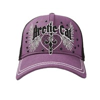 Arctic Cat Purple Mesh Back Cap
