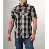 Arctic Cat Plaid Shirt Black