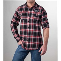 Arctic Cat Flannel Black