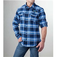 Arctic Cat Flannel Blue