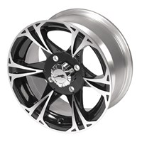 Black Magic Wheel Kit 14X8 - Rear