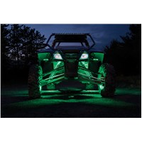 4-Pod LED Rock Light Kit - White