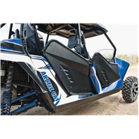 Aluminum Rear Doors - Matte Black
