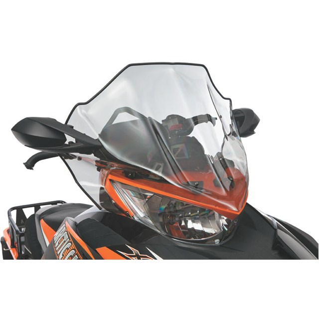 Arctic Cat Black  Windshield