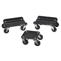Deluxe Caddy, Aluminum - Black