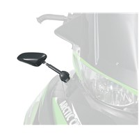Hood-Mounted Mirror Kit - LH