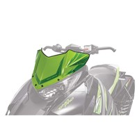 Low Sno Pro Windscreen - Green