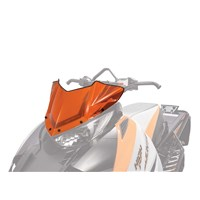 Low Sno Pro Windscreen - Orange