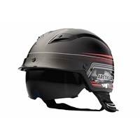 Aircat Half Helmet Red - X-Large