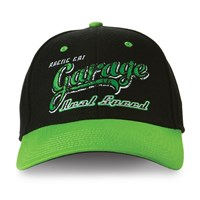 Garage Cap Black/Lime