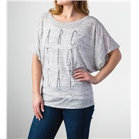 Arctic Cat Flowy T-Shirt Gray - Medium