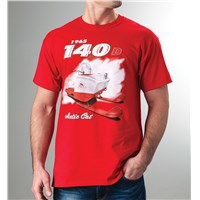 140-D Cat To The Core T-Shirt Red - 4X-Large
