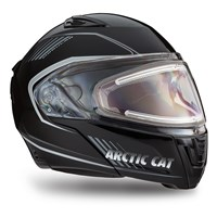 Arctic Cat Modular Helmet with Electric Shield Black - Medium