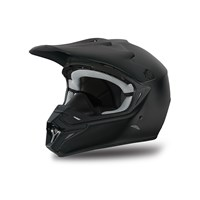 MX Aircat Helmet Solid Black - 2X-Large