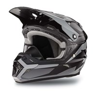 MX Aircat Helmet Black - 2X-Large