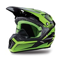 MX Aircat Helmet Green - Medium