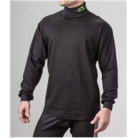 Aircat Turtleneck Black - X-Large