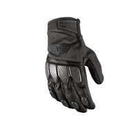 Off Road Leather Glove Black/Black - 2X-Large
