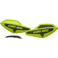 Handlebar Wind Deflectors - Manta Green / Black