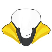 High Windshield Kit - Yellow