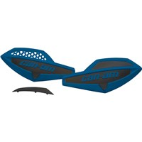 Handlebar Wind Deflectors - Octane Blue / Black